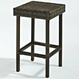 Crosley CO7107-BR Palm Harbor Outdoor Wicker Counter Height
