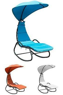 Hammock Chair Hanging Swing Lounge Chaise Outdoor Patio Cano