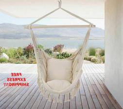 Hammock Portable Chair Swing Foldable Indoor Outdoor Round C