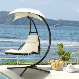 Hanging Chaise Lounger Patio Pool Chair Outdoor Floating Can