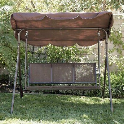 3-Person Awning Outdoor -Brown