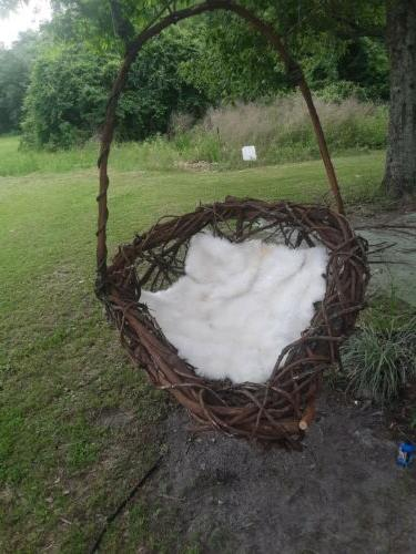 grapevine patio swing lounge bed