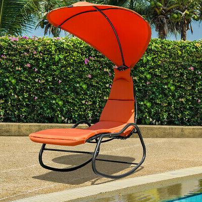 Patio Chaise Lounge Chair Thick