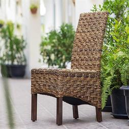 Manila Woven Abaca Dining Chair