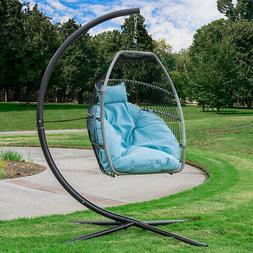 Premium Outdoor Hanging Chair Swing Chair Patio Egg Chair La