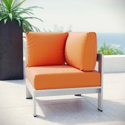 Outdoor Patio Furniture Aluminum Sectional Sofa Corner Chair