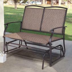 Patio Glider Rocking Bench Double for 2 Person Chair for Out