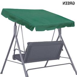 """Patio Outdoor 65""""x45"""" Swing Canopy Replacement Porch Top Cov"""