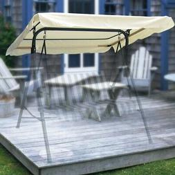 """76x44"""" Outdoor Replacement Swing Canopy Cover Top Porch Pati"""