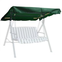 """75""""x52"""" Outdoor Swing Canopy Replacement Porch Top Cover Par"""