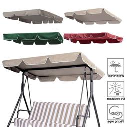 Swing Top Cover Canopy 300D Replacement Garden Patio Outdoor