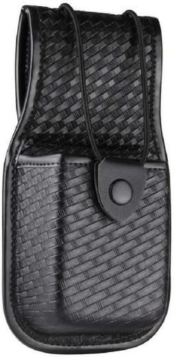universal radio holder basketweave pouch for heavy