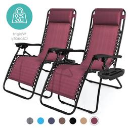 Zero Gravity Chairs Recliners Set Of 2 Clearance For Beach P